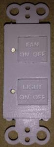 2 button keypad