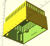 temperature-humidity wall box