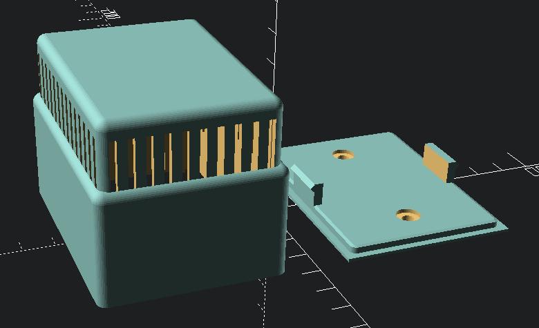 temperature-humidity wall box V3