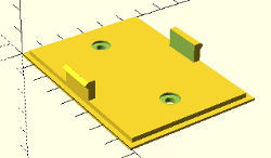 temperature-humidity wall plate